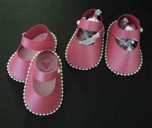 50 best paper shoes images on pinterest paper shoes art for Baby shower booties template