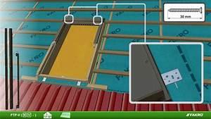 Dachfenster Mit Eindeckrahmen : fakro dachfenster ftp mit eindeckrahmen ezv youtube ~ Orissabook.com Haus und Dekorationen