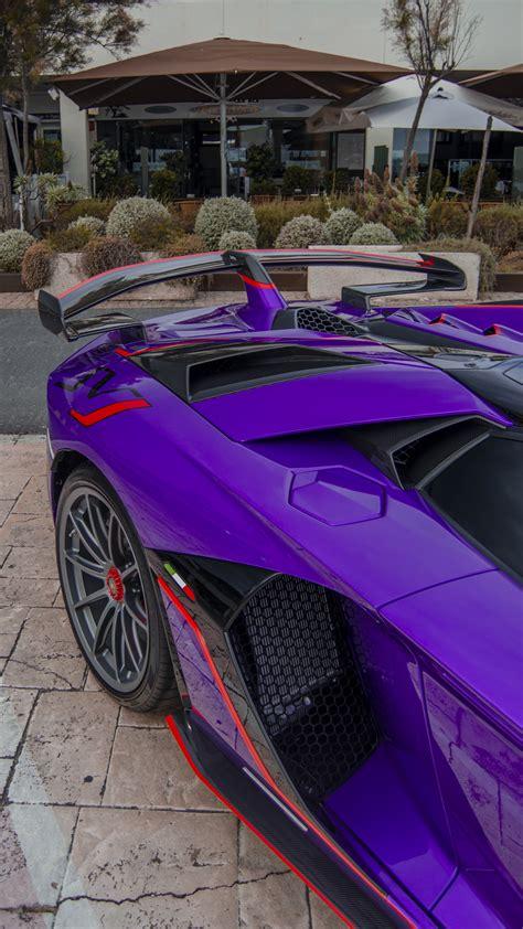 Lamborghini Aventador SVJ Roadster For Sale - Purple ...