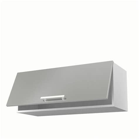 meubles de cuisine haut meuble de cuisine haut gris 1 porte délice h 35 x l 90 x p