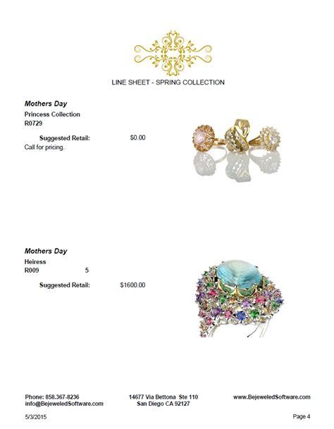 sell handmade jewelry line sheets look books jewelry