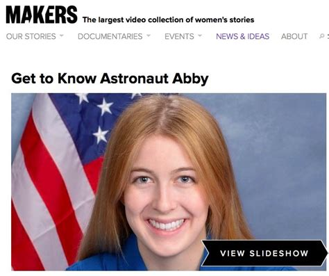 Makerscom Article Get To Know Astronaut Abby  Astronaut Abby