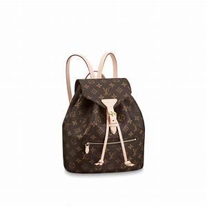 Louis Vuitton Damen Handtaschen : montsouris monogram canvas handtaschen louis vuitton ~ Frokenaadalensverden.com Haus und Dekorationen