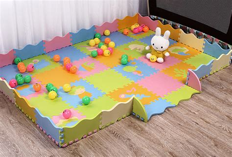 foam floor mats baby 48pc foam baby play mat with assembled fence