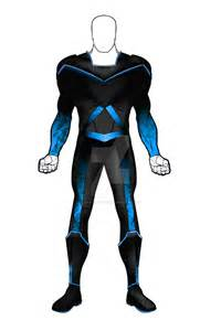 Superhero Concept Art Suit
