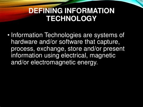 introduction  software engineering information technology