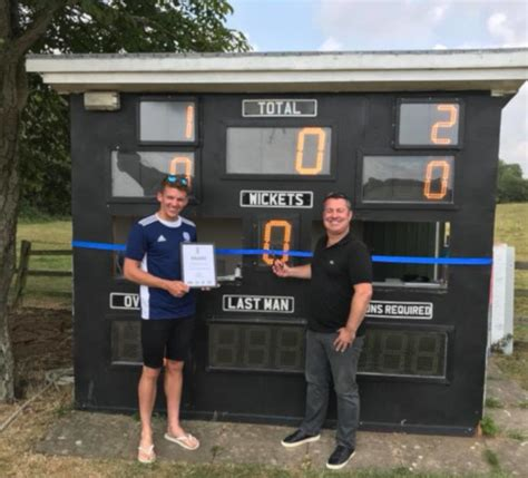 Check the company's details for free and view the companies house information, company documents and list of directors. Plumtree New Scoreboard - Clarke Dove Insurance