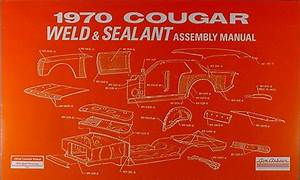 1970 Mercury Cougar Wiring  U0026 Vacuum Diagram Manual Reprint
