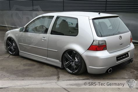 Rear Bumper R Style R32 Vw Golf Iv Srs Tec