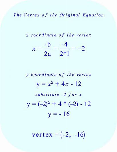 Parabola Quadratic Equation Form Bx Vertex Unique