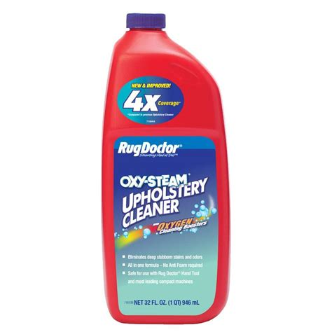 Can A Rug Doctor Clean Upholstery by Rug Doctor 32 Oz Upholstery Cleaner 01128 The Home Depot
