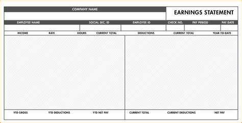 fillable paycheck stub template secure paystub