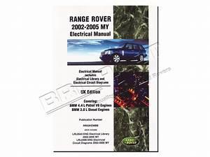 Da3149 Range Rover L322 Electrical Manual 2002