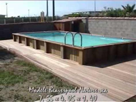 piscine hors sol 4x8 piscine hors sol 8x4 bois