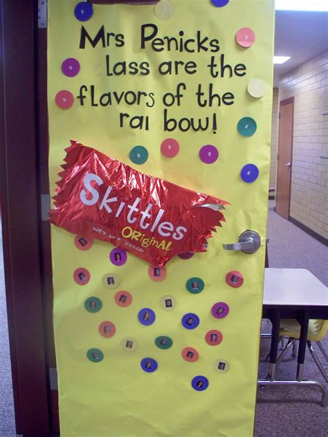 Room Mom 101 Candy Themed Door Decorations