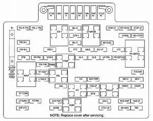 2004 Freightliner Columbia Fuse Panel Diagram