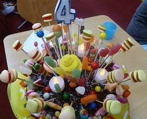 Deco Bonbon Anniversaire : decoration gateaux anniversaire faire soi meme ~ Melissatoandfro.com Idées de Décoration