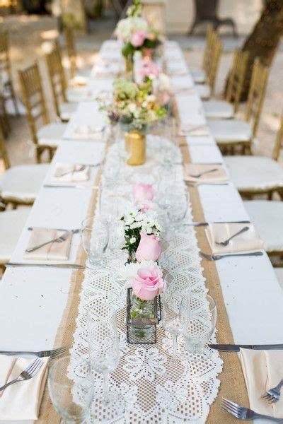 blush miami garden wedding wedding place setting table