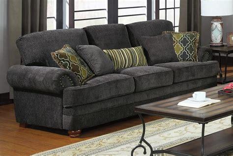 gray sofa and loveseat set 504401 coaster smokey grey sofa set colton collection