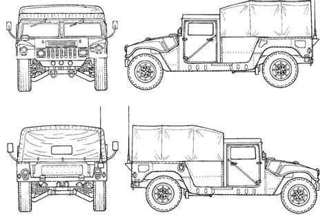 military hummer drawing military humvee dimensions bing images