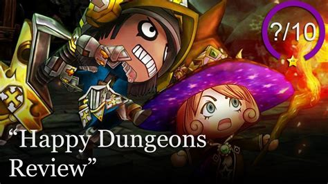 happy dungeons review ps xbox    play