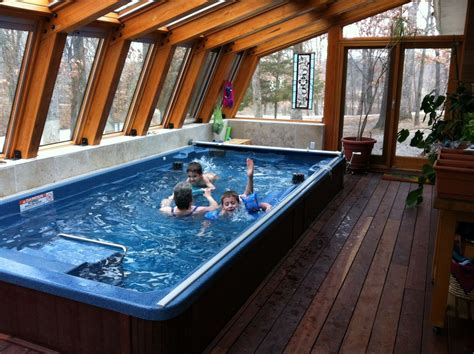 swim spa small indoor pool indoor swimming pools
