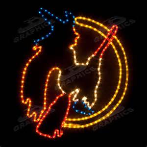 witch rope light outdoor decoration led