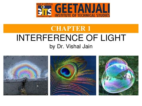 Interference of light