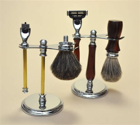 woodturners delux stand kit for gillette mach3 razor with