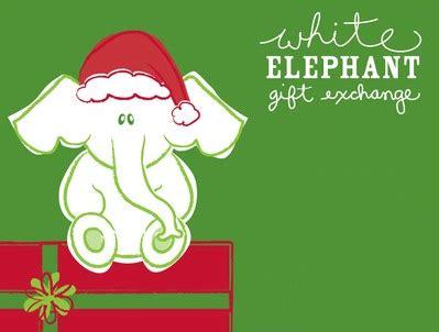 steps   white elephant christmas gift exchange