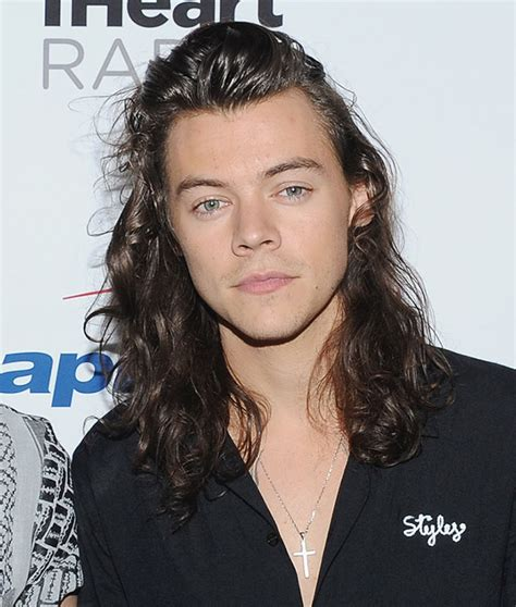 harry styles cuts  famous hair  charity