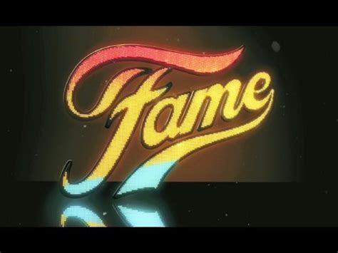 """""""fame""""  Official Trailer [hq] Youtube"""