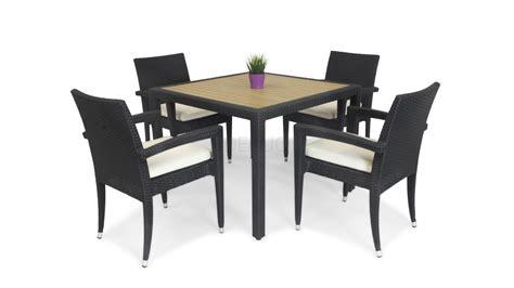 kara 4 seater outdoor dining set lavita furniture