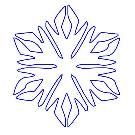 ffree snowflake tag template printable