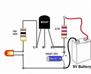Led Flasher Wiring Diagram