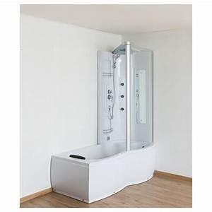 Baignoire Douche Dimension : combin douche baignoire corida 170 cm coin droite zb67284r ~ Premium-room.com Idées de Décoration