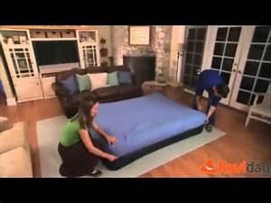 Matelas Intex 2 Personnes : matelas autogonflant 2 personnes intex raised pillow youtube ~ Melissatoandfro.com Idées de Décoration