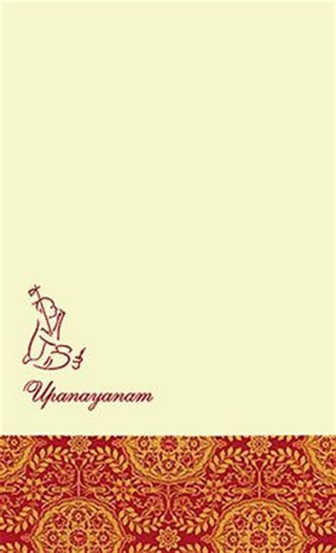 upanayana images invitation cards invites