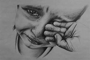 sad boy drawing by TolleaM on DeviantArt