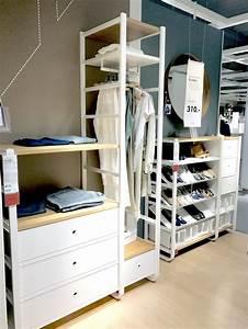 Ikea Offener Kleiderschrank : ikea elvarli begebarer kleiderschrank ankleidezimmer ankleidezimmer in 2019 pinterest ~ Eleganceandgraceweddings.com Haus und Dekorationen
