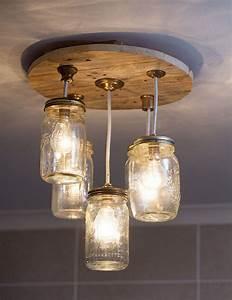 DIY Mason jar chandelier SA Garden and Home