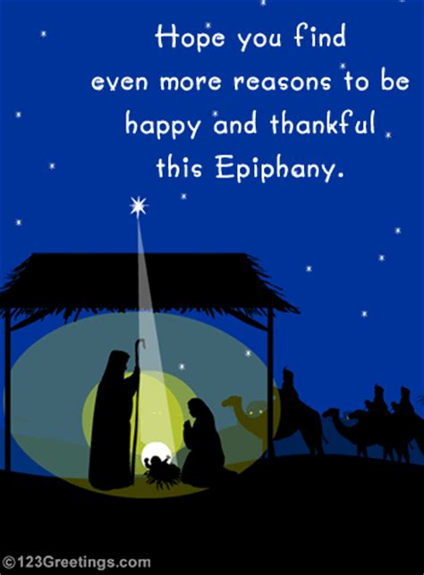 blessed epiphany  epiphany ecards greeting cards