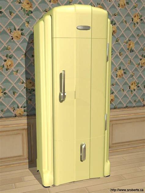deco kitchen appliances freezers vintage fridge freezers