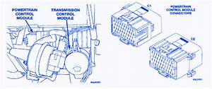 Dodge Intrepid 3 2 L V6 2001 Transmission Fuse Box  Block Circuit Breaker Diagram  U00bb Carfusebox