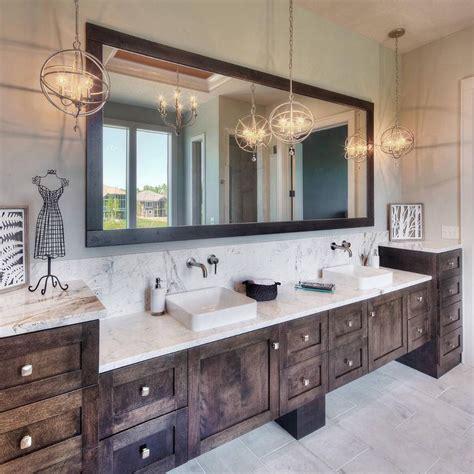 rustic glam dream bathroom love  warm tones