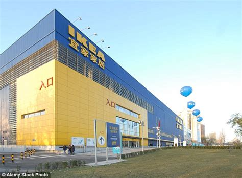 chinese woman pictured shopping  ikea  beijing