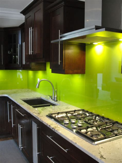backsplash kitchen glass back painted and vinyl backed glass