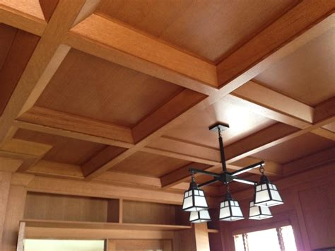 Suspended Wood Ceiling by Coffered Ceilings Wood Suspended Drop Ceiling Systems