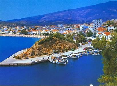 Thassos Island Greece Beach Golden Beaches Ro
