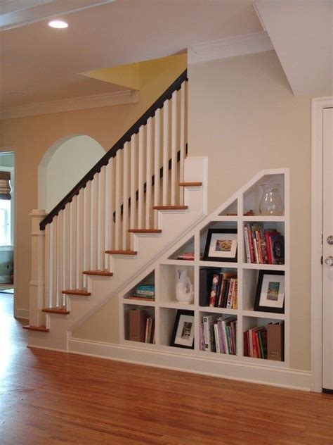 Stairs Shelf Ideas For Book Storage by 17 Best Ideas About Shelves Stairs On